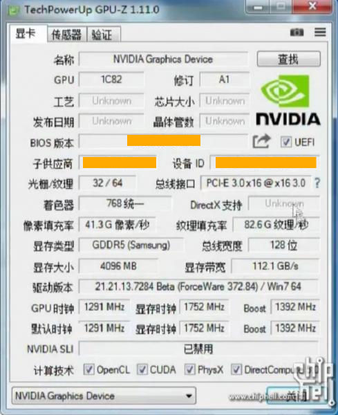 NVIDIA GeForce GTX 1050 Ti specifications confirmed with ...
