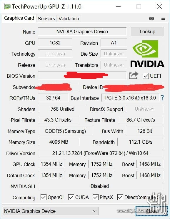 NVIDIA GeForce GTX 1050 Ti 3DMark Fire Strike and Time Spy ...