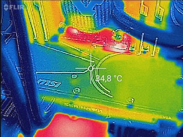 MSI GeForce GTX 1070 SEA HAWK X Review - STABILITY @@ Temperature