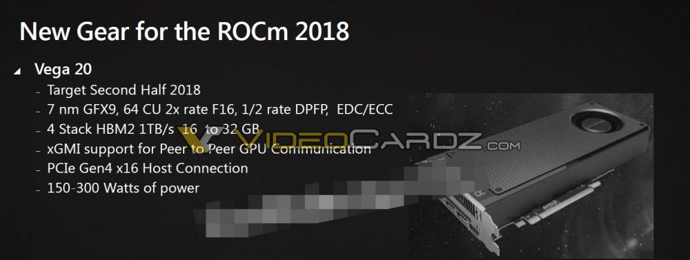 AMD VEGA 10 and VEGA 20 slides revealed | VideoCardz.com