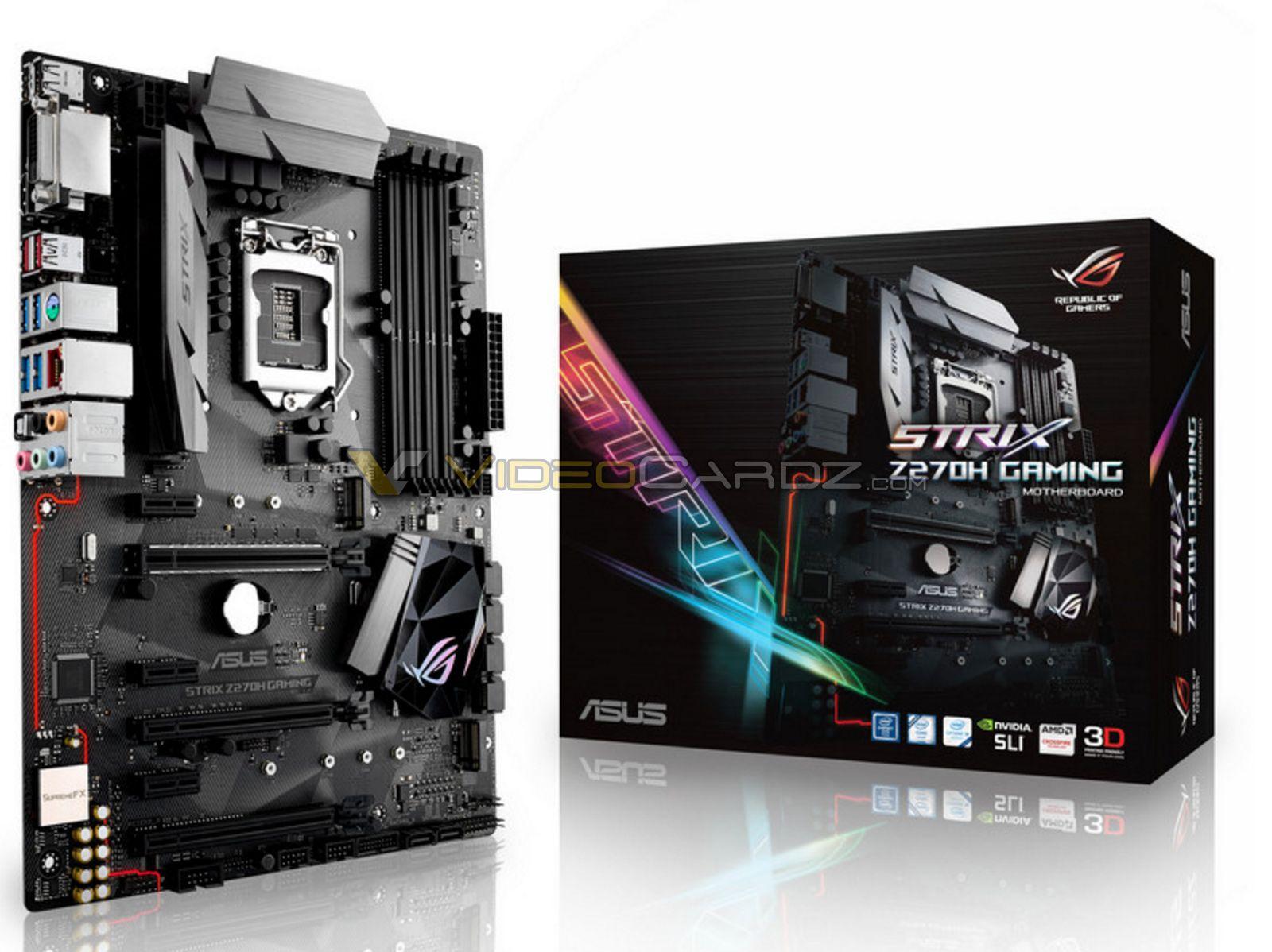 Asus Announces Z270 Series Motherboards Motherboard Asush170 Pro Socket 1151 Lga Chipset Intel H170