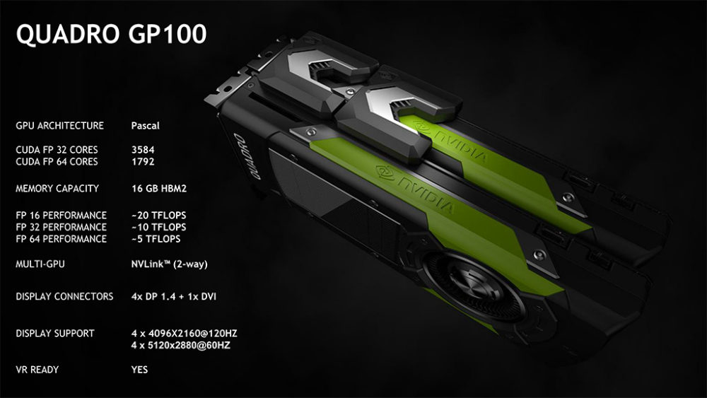 Nvidia - Quadro GP100 - Specs