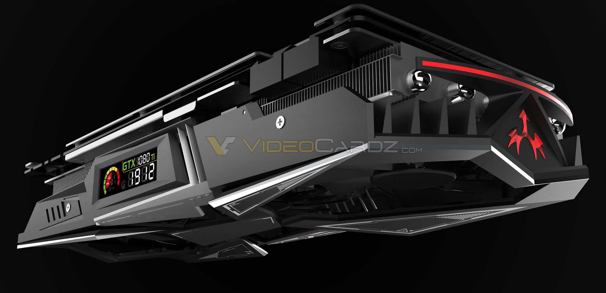 colorful shows off igame gtx 1080 ti with 16 2 phase. Black Bedroom Furniture Sets. Home Design Ideas