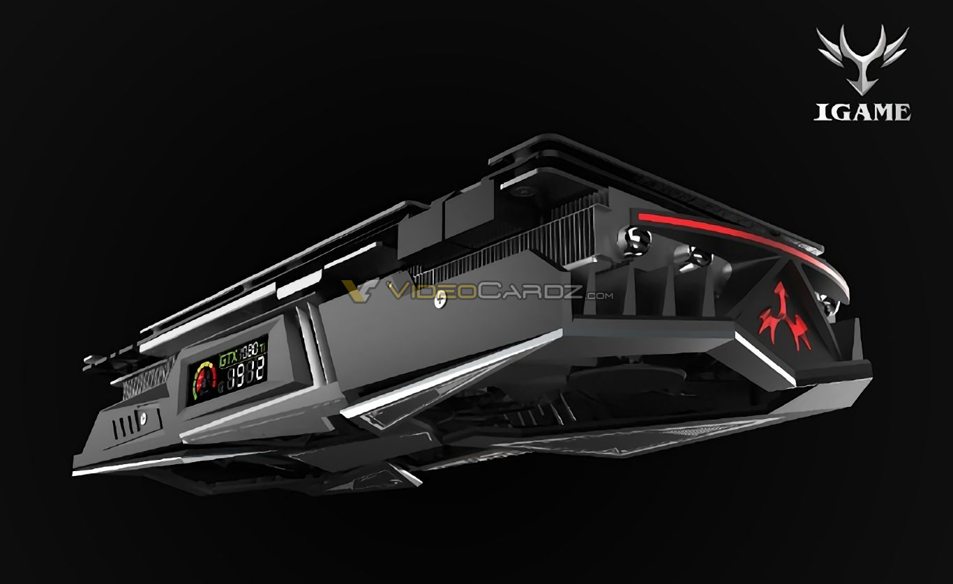 1060 Graphics Card >> COLORFUL GeForce GTX 1080 Ti iGame features LCD display | VideoCardz.com
