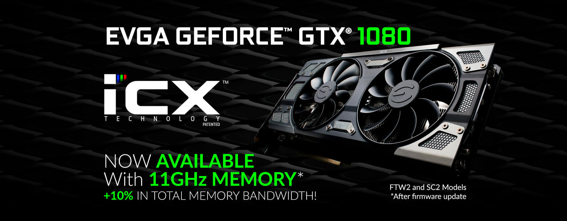 EVGA announces GTX 1080 11Gbps and GTX 1060 9Gbps