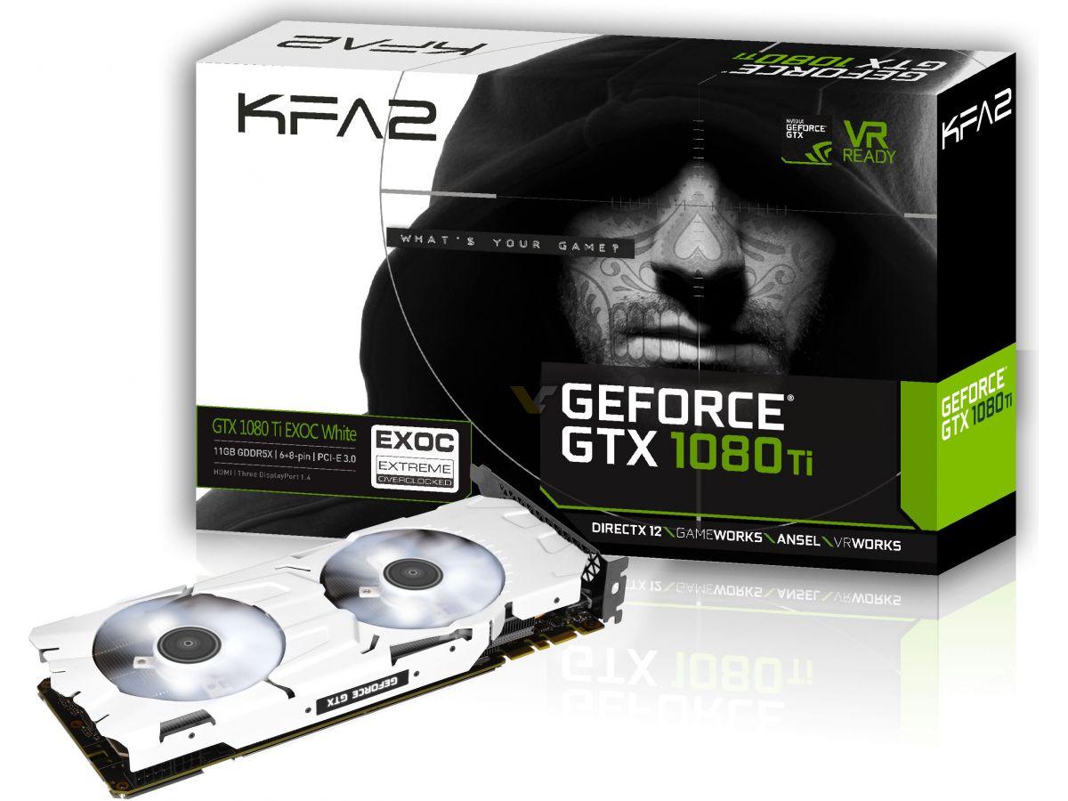 GALAX unleashes white edition of GeForce GTX 1080 Ti EXOC