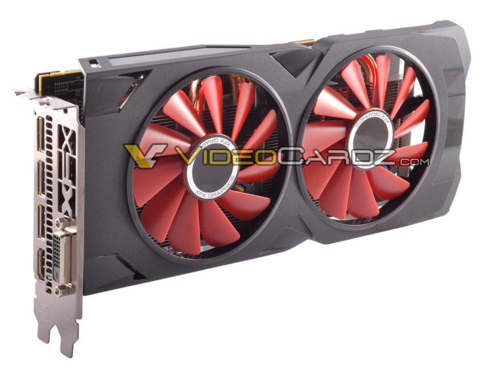 XFX Radeon RX 580/570 pictured - VideoCardz.com