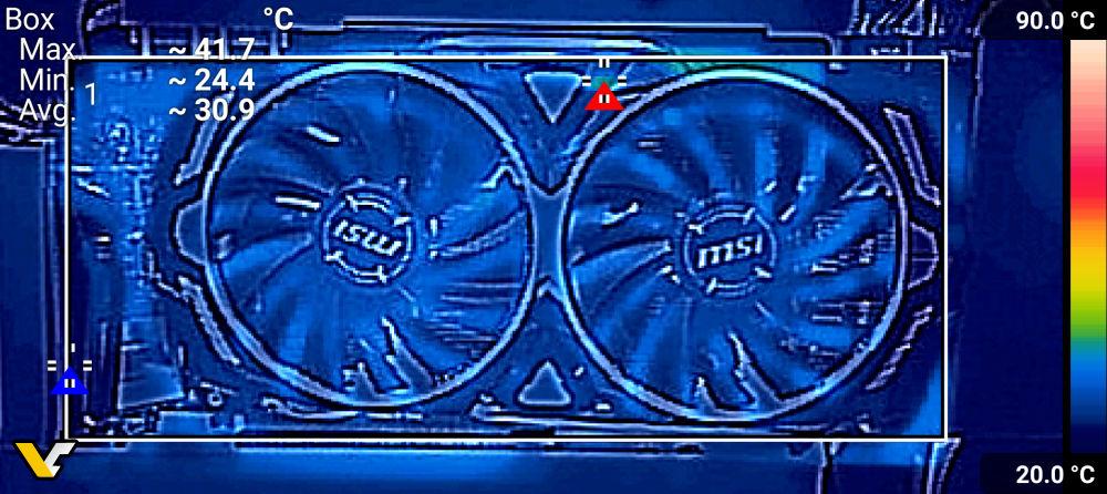 MSI GeForce GTX 1080 Ti ARMOR Review - THERMAL EXAMINATION