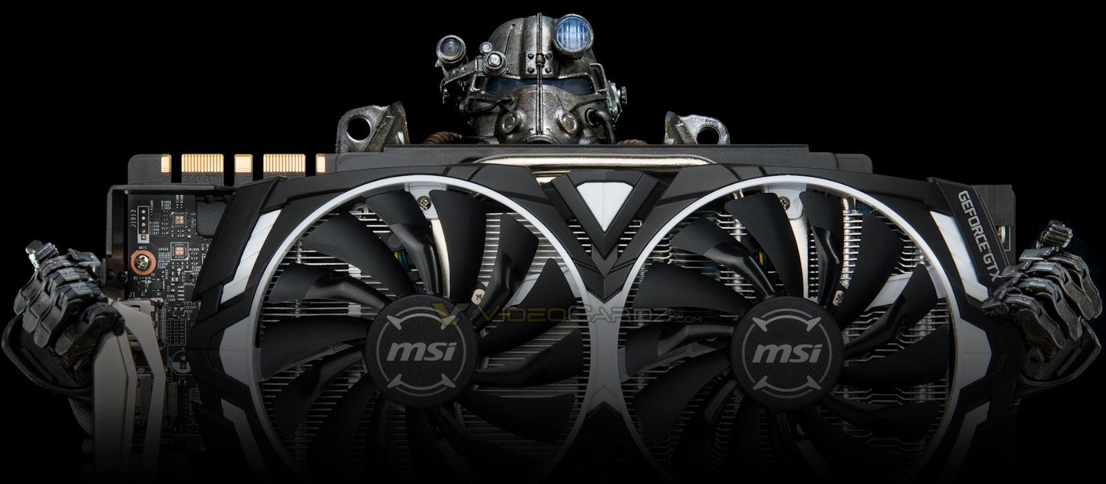 MSI GeForce GTX 1080 Ti ARMOR Review - VideoCardz com