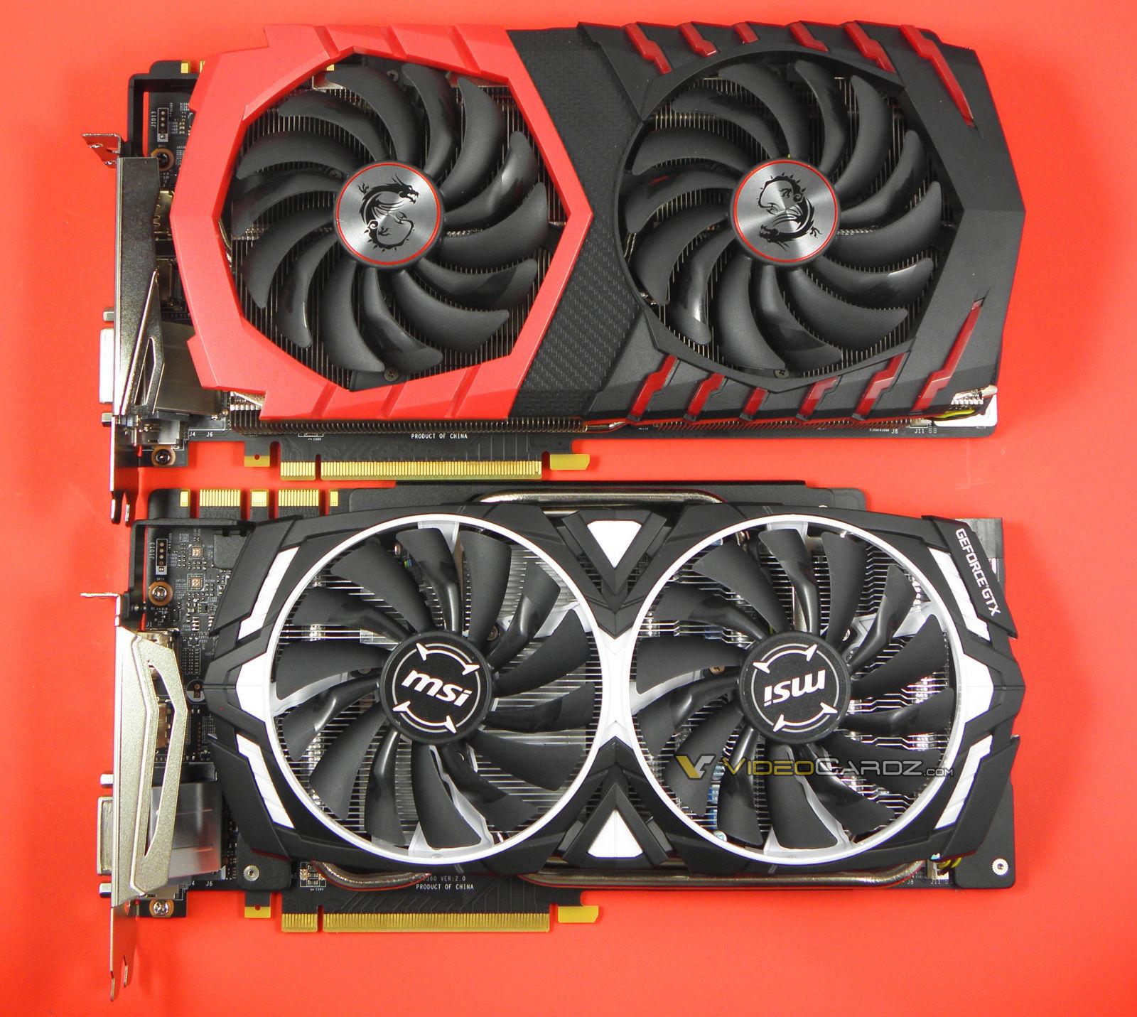 MSI GeForce GTX 1080 Ti ARMOR Review - A closer look @@ MSI GeForce