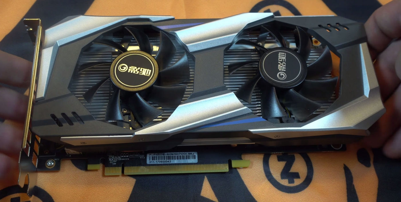 NVIDIA P106-100 cryptocurrency mining card tested