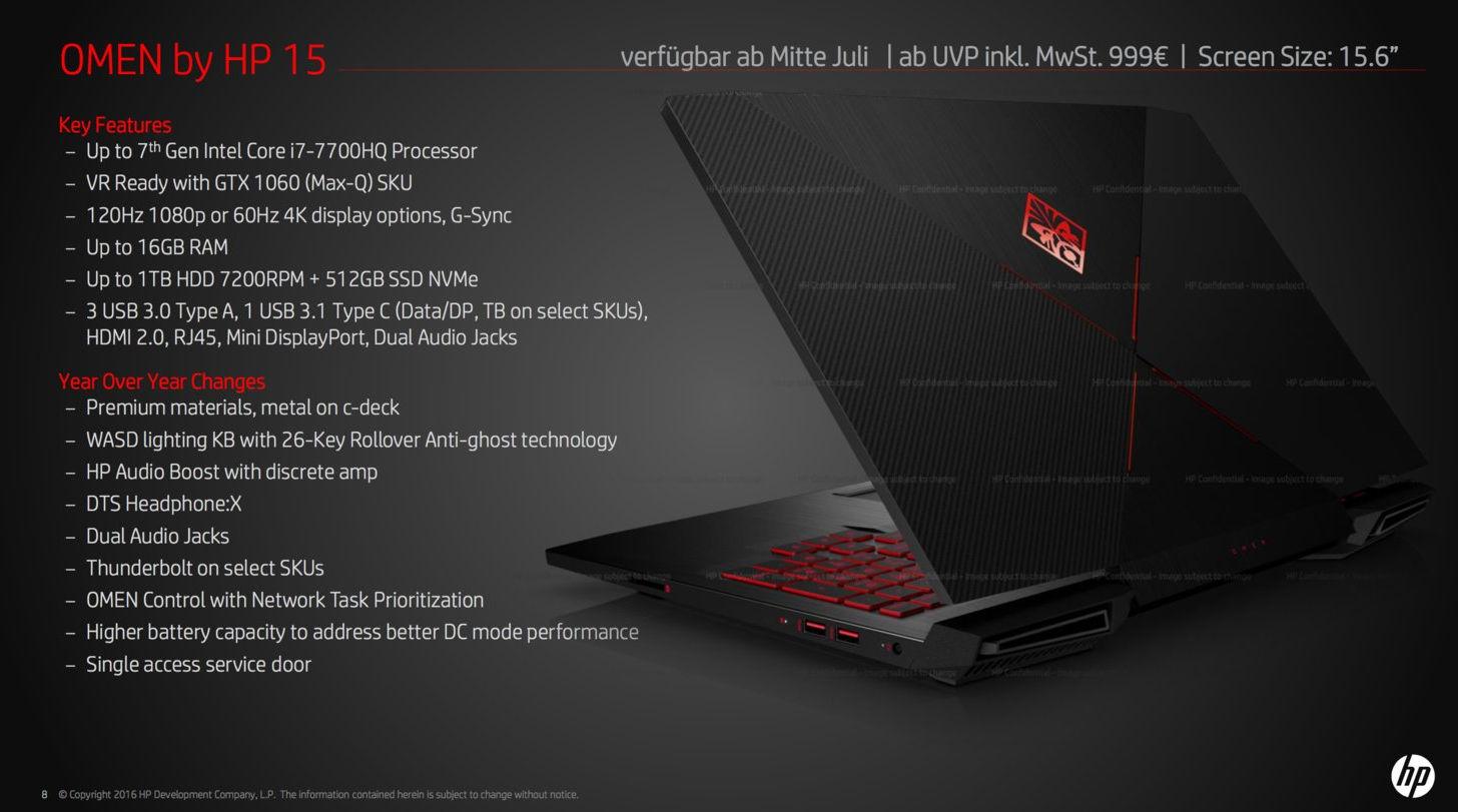 1060 Graphics Card >> HP Omen desktop PC to ship with AMD Vega 10 - VideoCardz.com