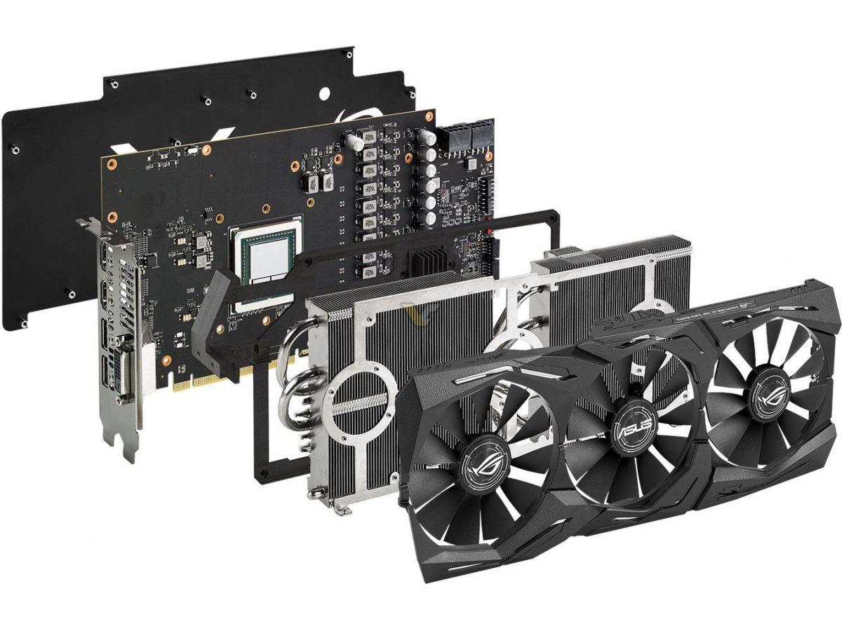 ASUS announces Radeon RX Vega 64 ROG STRIX series - VideoCardz.com