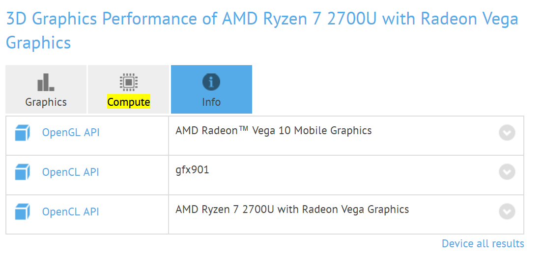Amd Radeon Vega 8 And Vega 10 Mobile Spotted Videocardz Com