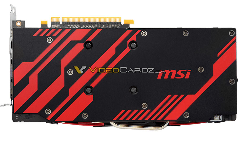 MSI Radeon RX 570 Armor MK2 pictured - VideoCardz com