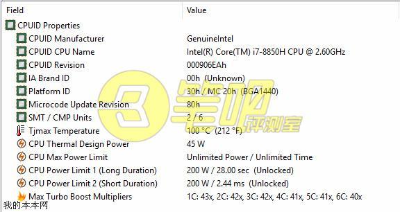 Intel's six-Core i9-8950HK, i7-8850H, i7-8750H Cinebench score