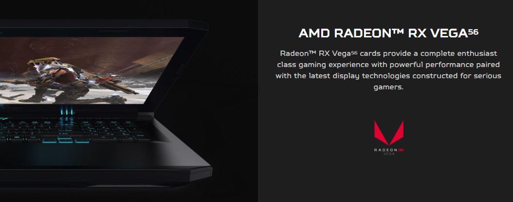 AMD Radeon RX Vega 56 available with Acer Predator Helios