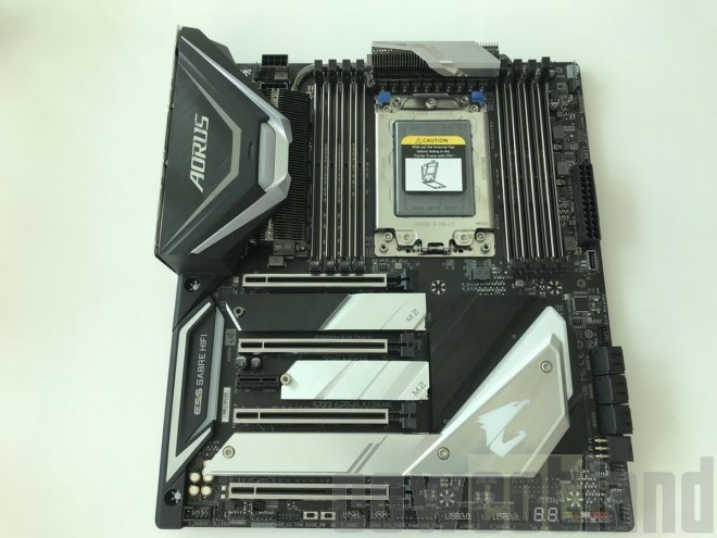 GIGABYTE shows off X399 AORUS Extreme Threadripper motherboard