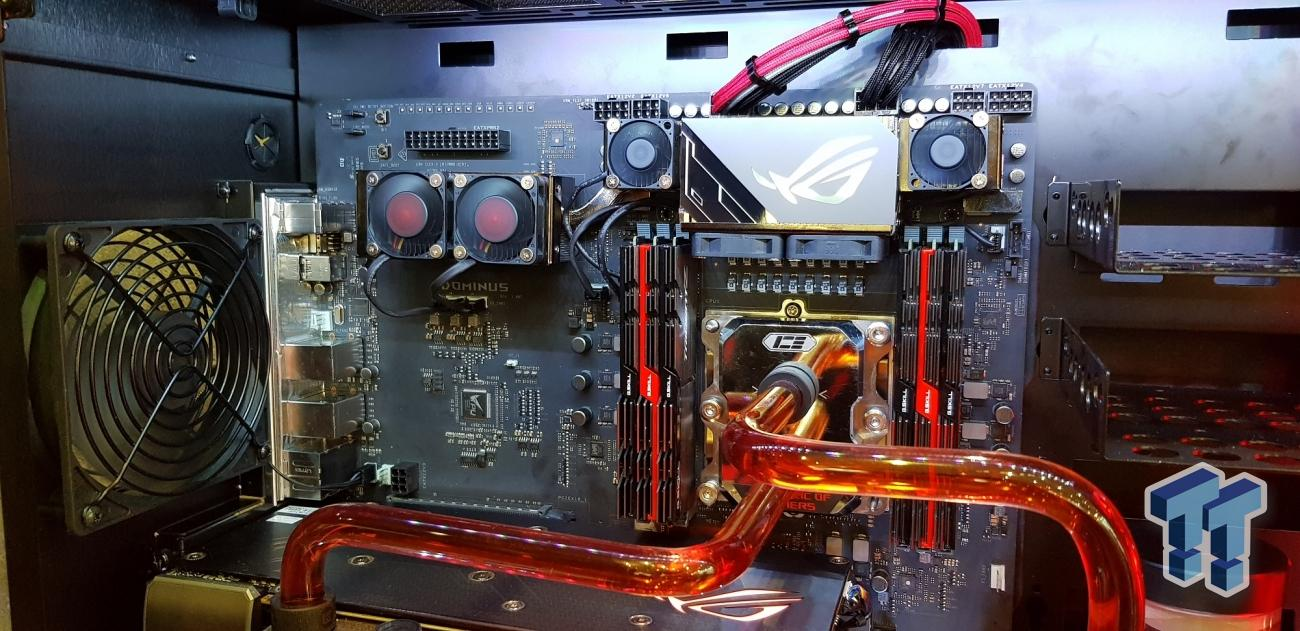 ASUS ROG DOMINUS spotted with 28-core Cascade Lake-X CPU