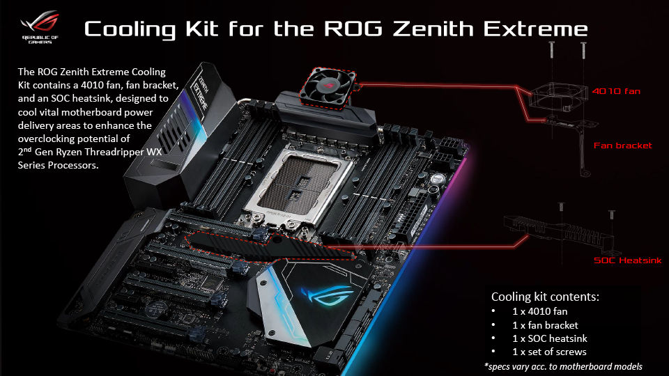 ASUS, GIGABYTE and MSI announce X399 motherboards for