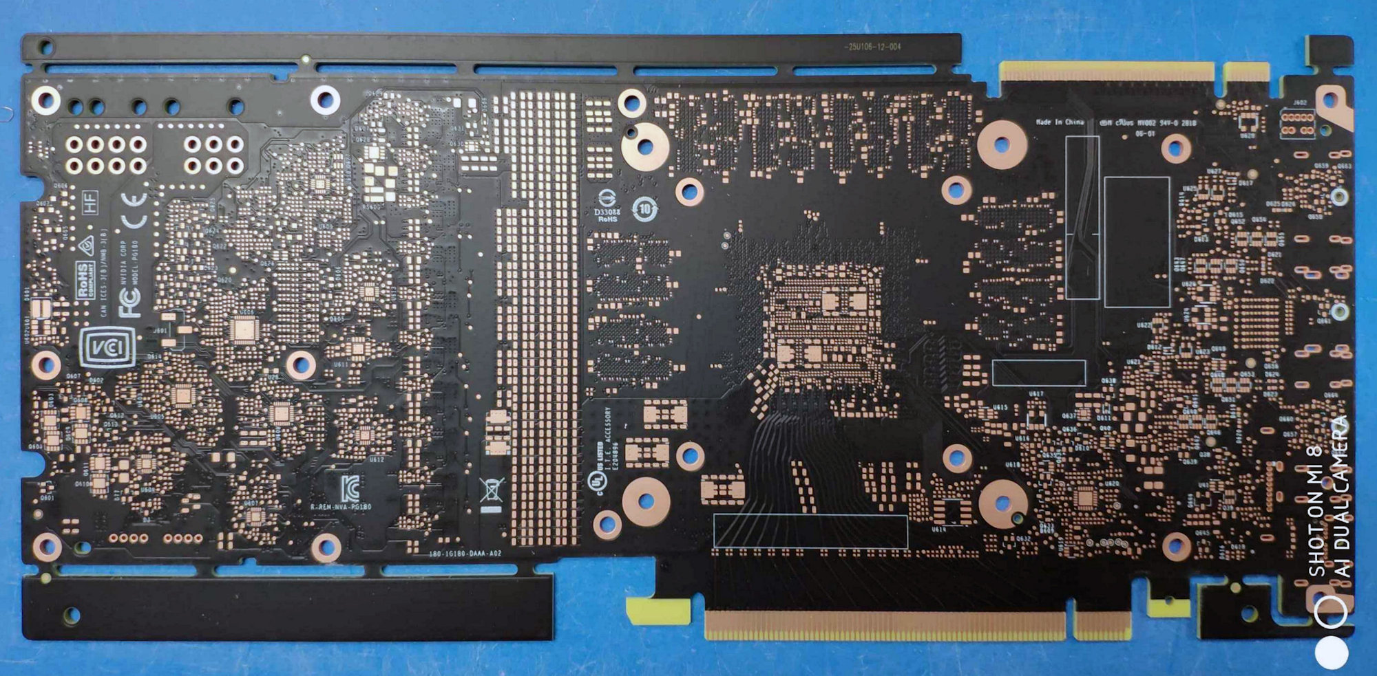 NVIDIA GeForce GTX 2080 PCB has been leaked | VideoCardz com