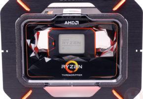 AMD Ryzen Threadripper 2990WX, 2970WX, 2950X and 2920X specs