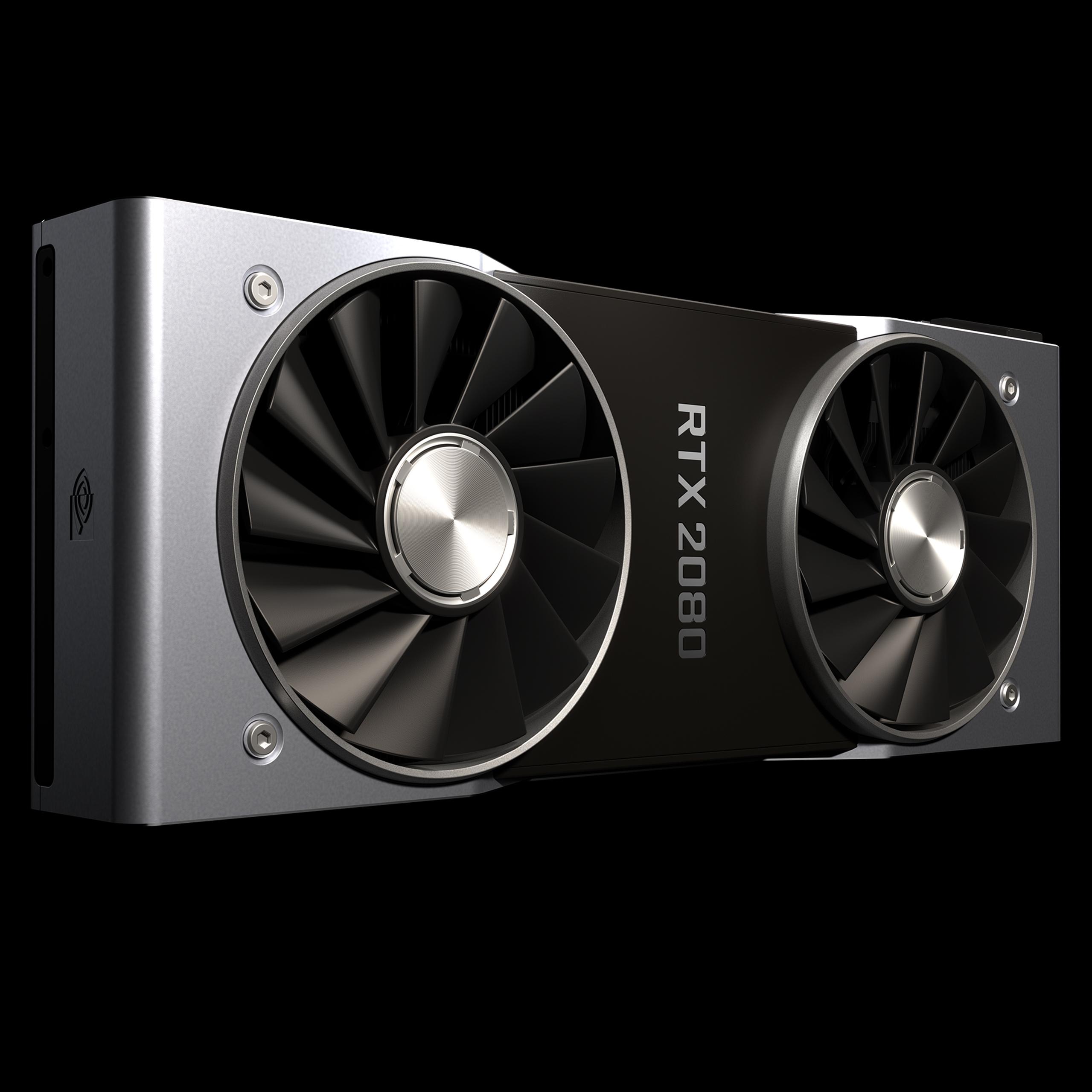 NVIDIA announces GeForce RTX 2080 Ti, RTX 2080 and RTX 2070