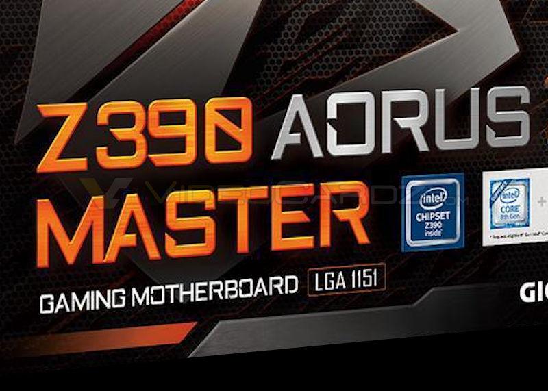 GIGABYTE's Z390 AORUS Master and Ultra leaked - VideoCardz com