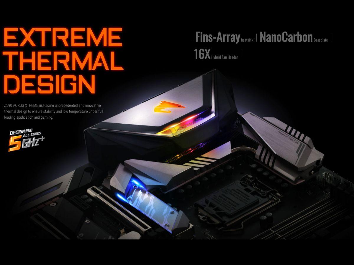 gigabyte announces  aorus xtreme motherboard