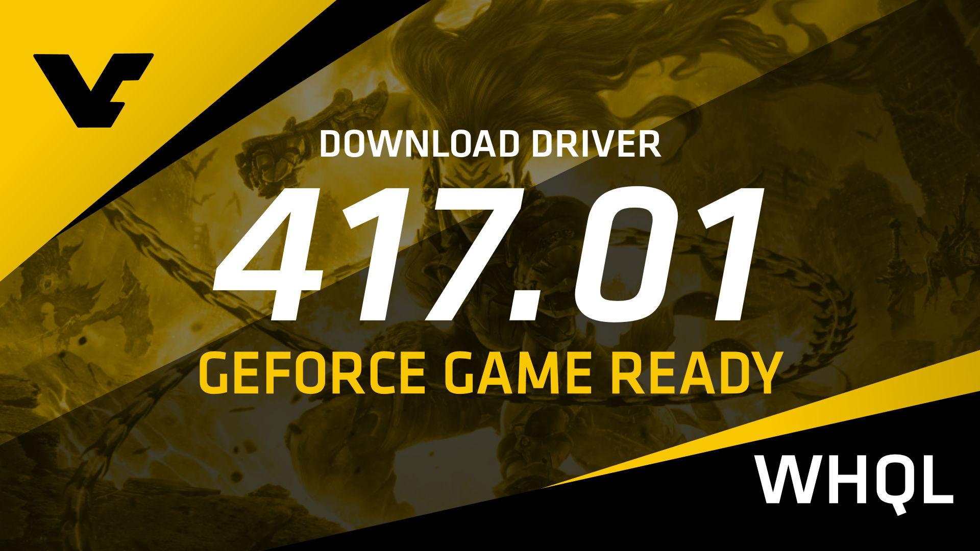 NVIDIA GeForce Game Ready 417 01 WHQL - VideoCardz com