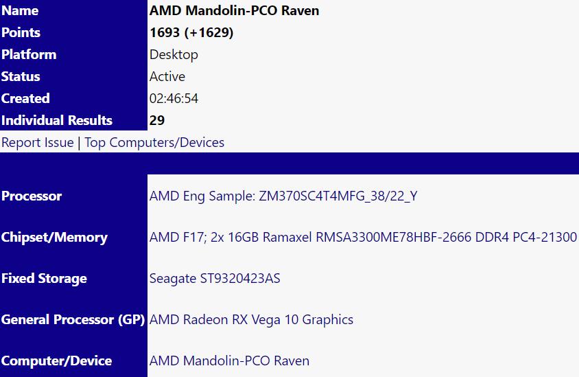 AMD Ryzen 7 3700U spotted, features Picasso GPU | VideoCardz com