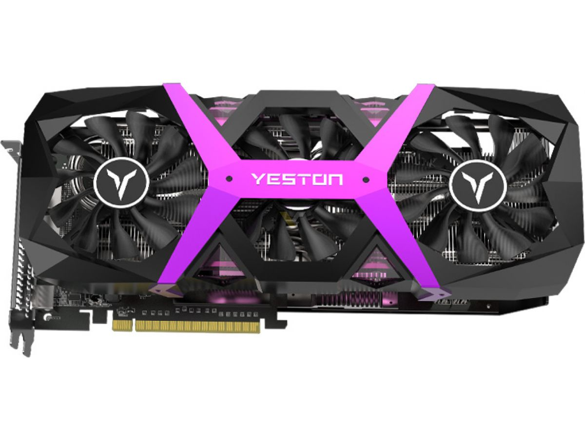 YESTON releases black and pink Radeon RX 590 Game Ace
