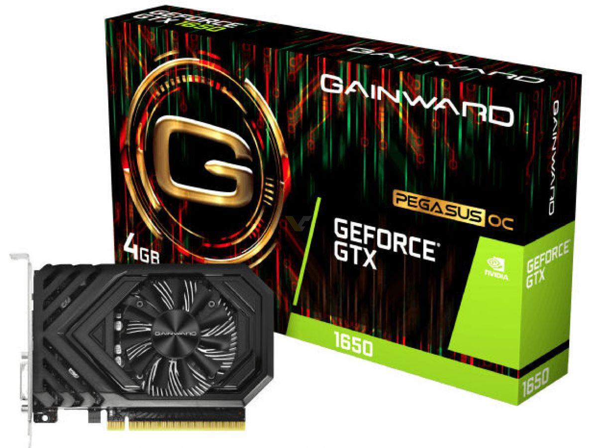 GAINWARD and PALIT GeForce GTX 1650 also pictured - VideoCardz com