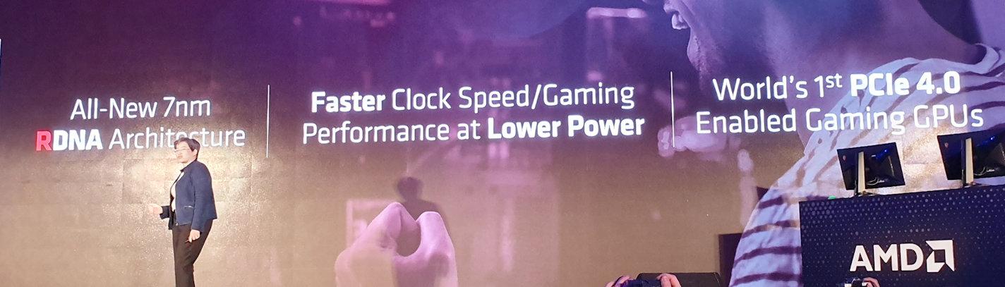 AMD announces Radeon RX 5700 series, NAVI & RDNA architecture