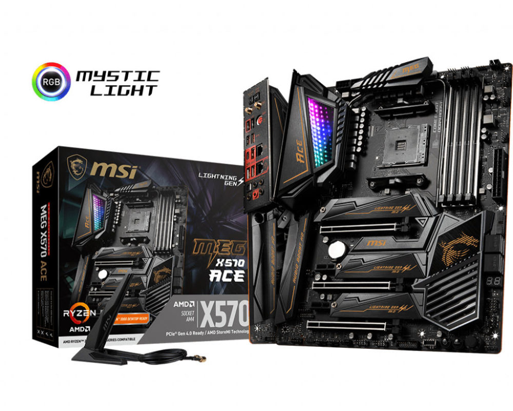 Msi Announces X570 Motherboards Godlike Ace Creation