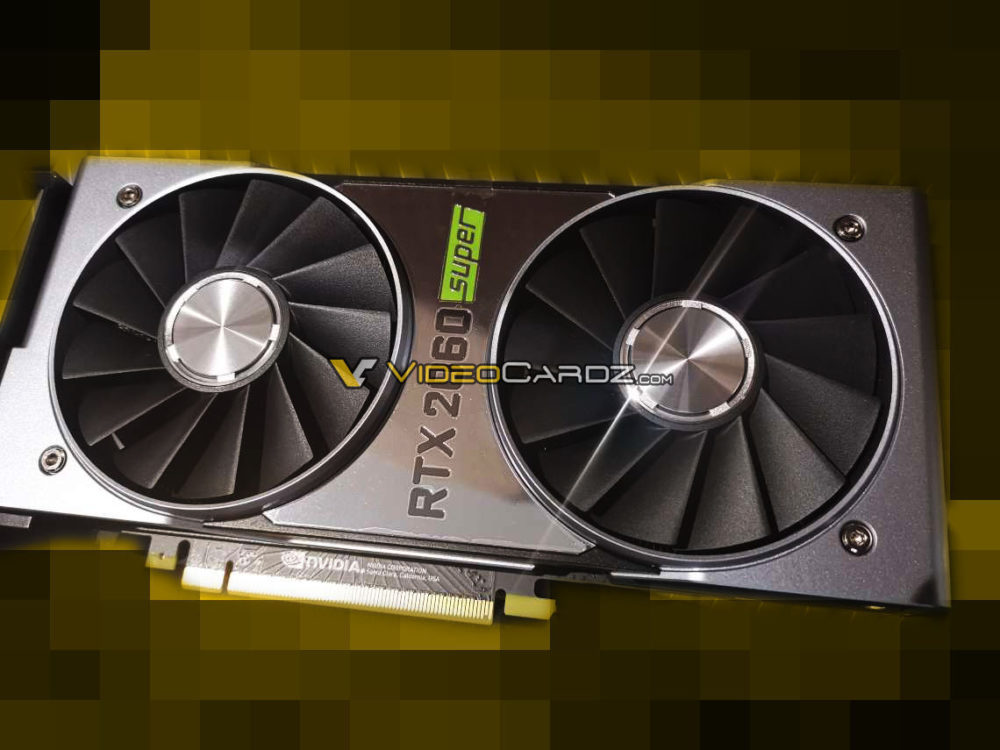 NVIDIA GeForce RTX 2060 SUPER pictured up close - VideoCardz.com