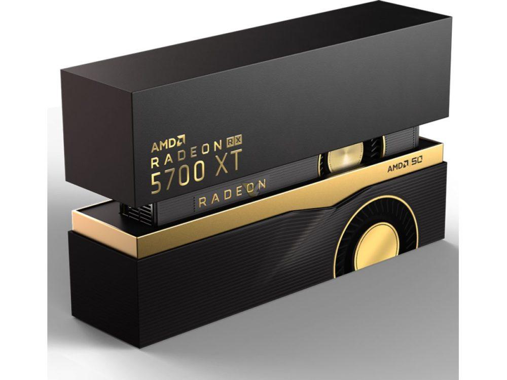 AMD Radeon RX 5700 (XT) gets fancy packaging | VideoCardz.com