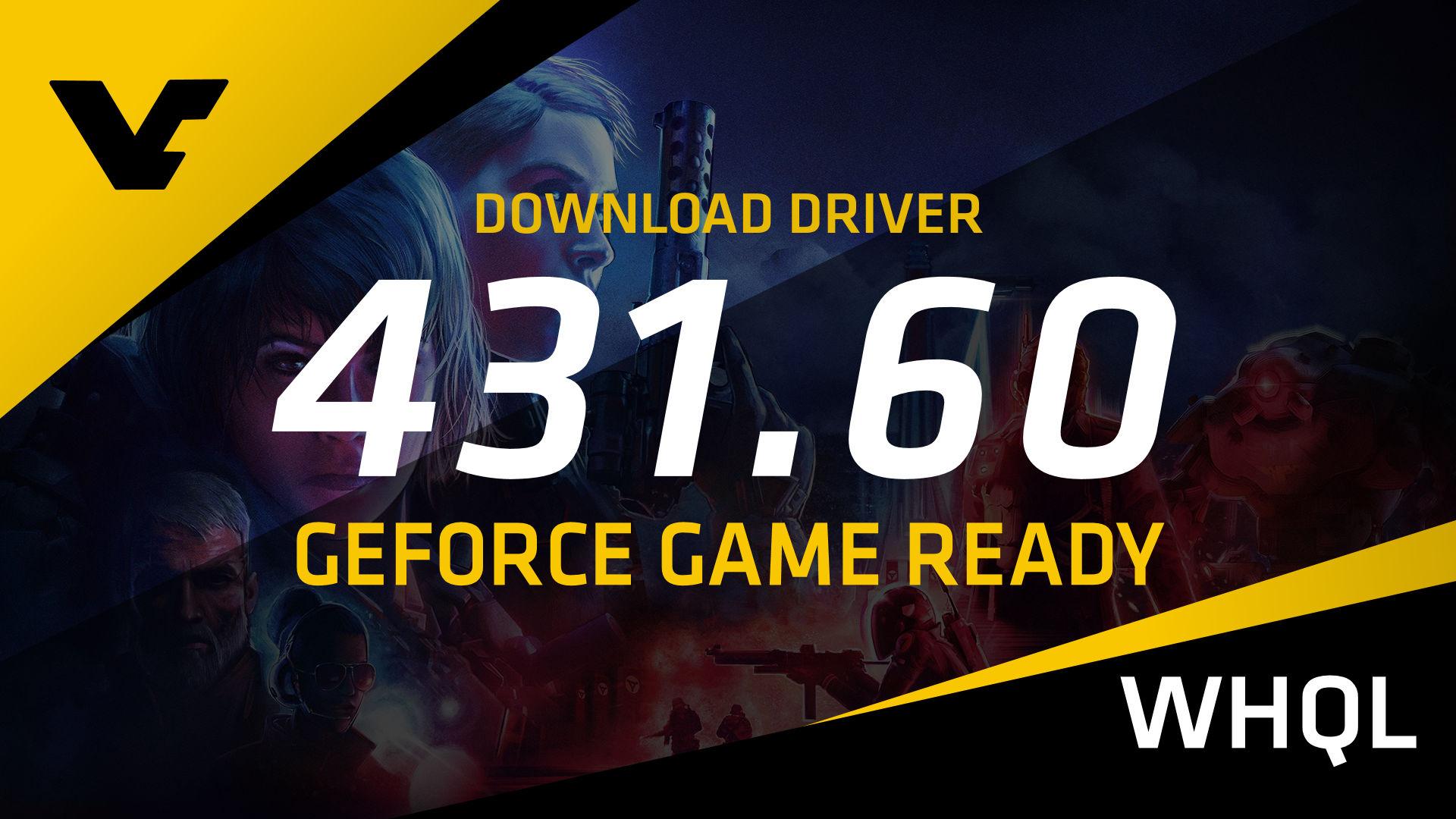 NVIDIA GeForce Game Ready 431 60 WHQL - VideoCardz com