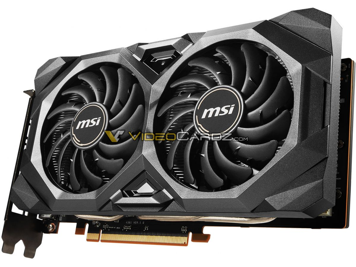 MSI's Radeon RX 5700 MECH OC final design pictured - VideoCardz.com