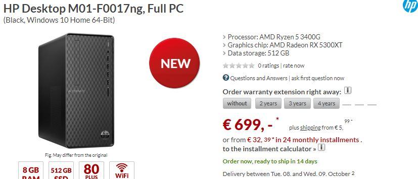 Un minorista desvela el lanzamiento de la Radeon RX 5300XT, la nueva gama baja de AMD