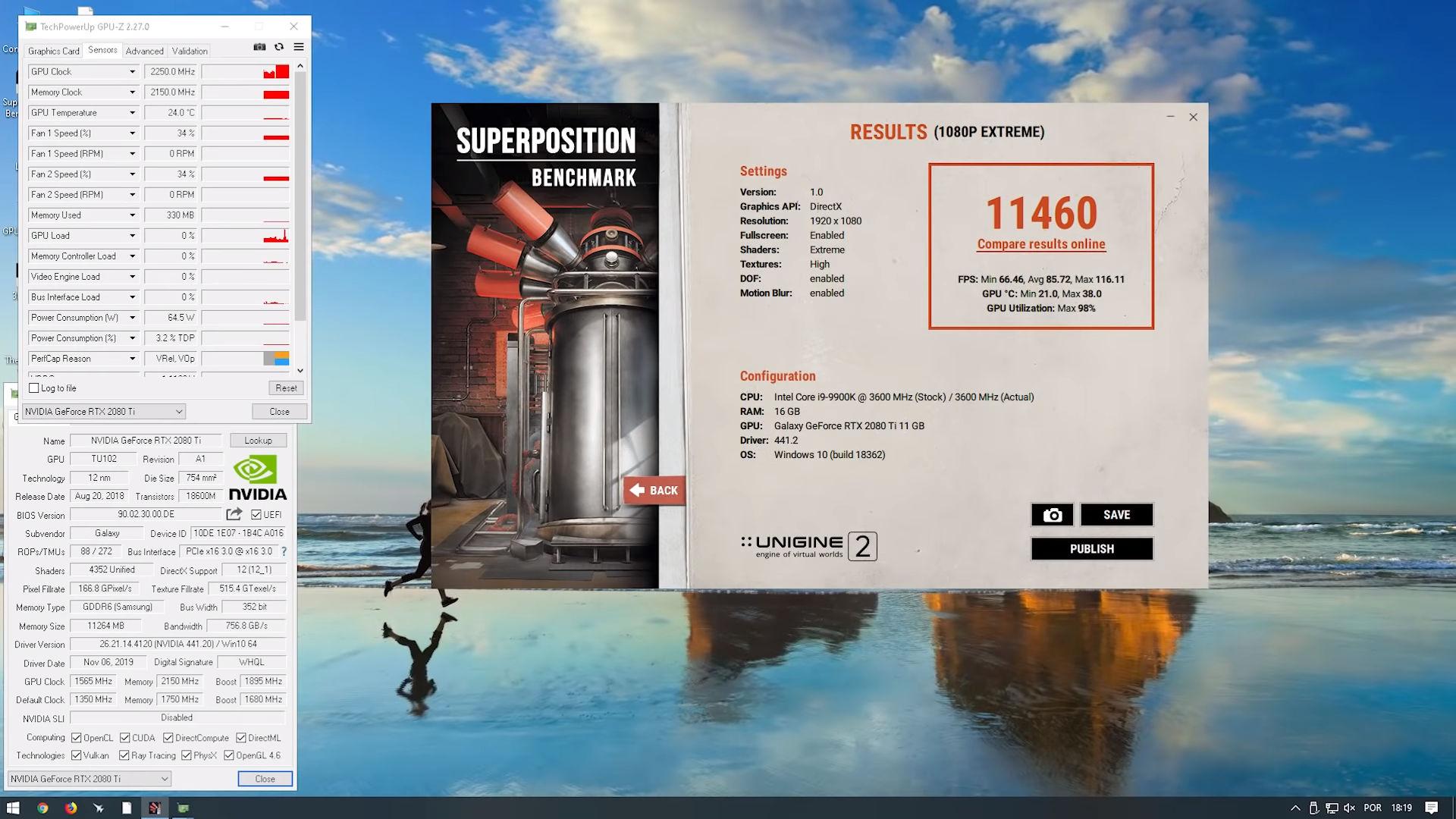 TecLab RTX 2080 Ti SUPER Superposition