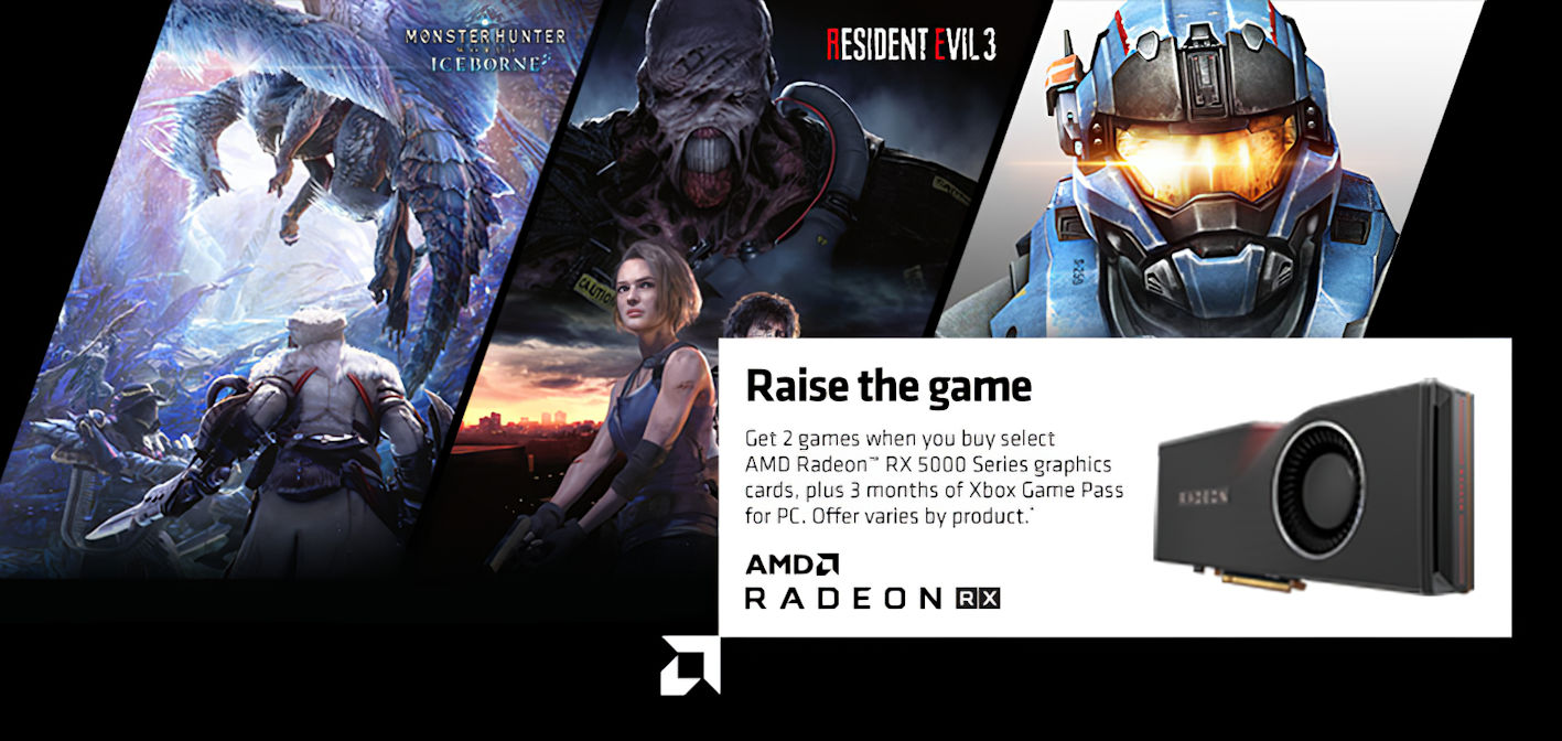 amd free games with graphics card