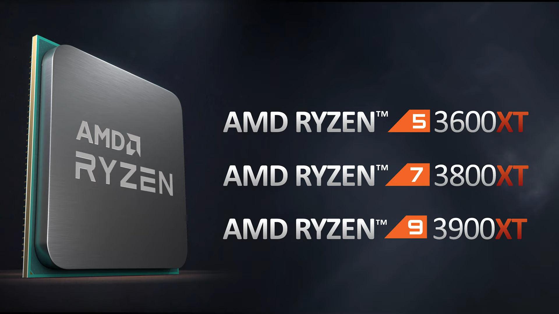 Amd Announces Ryzen 3000 Xt Series Videocardz Com
