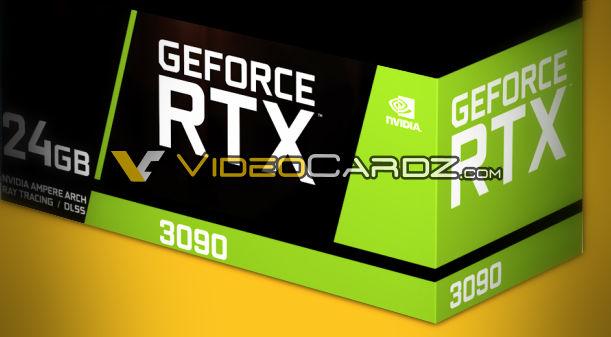 Specifikace RTX 3090 a 3080 jsou venku!