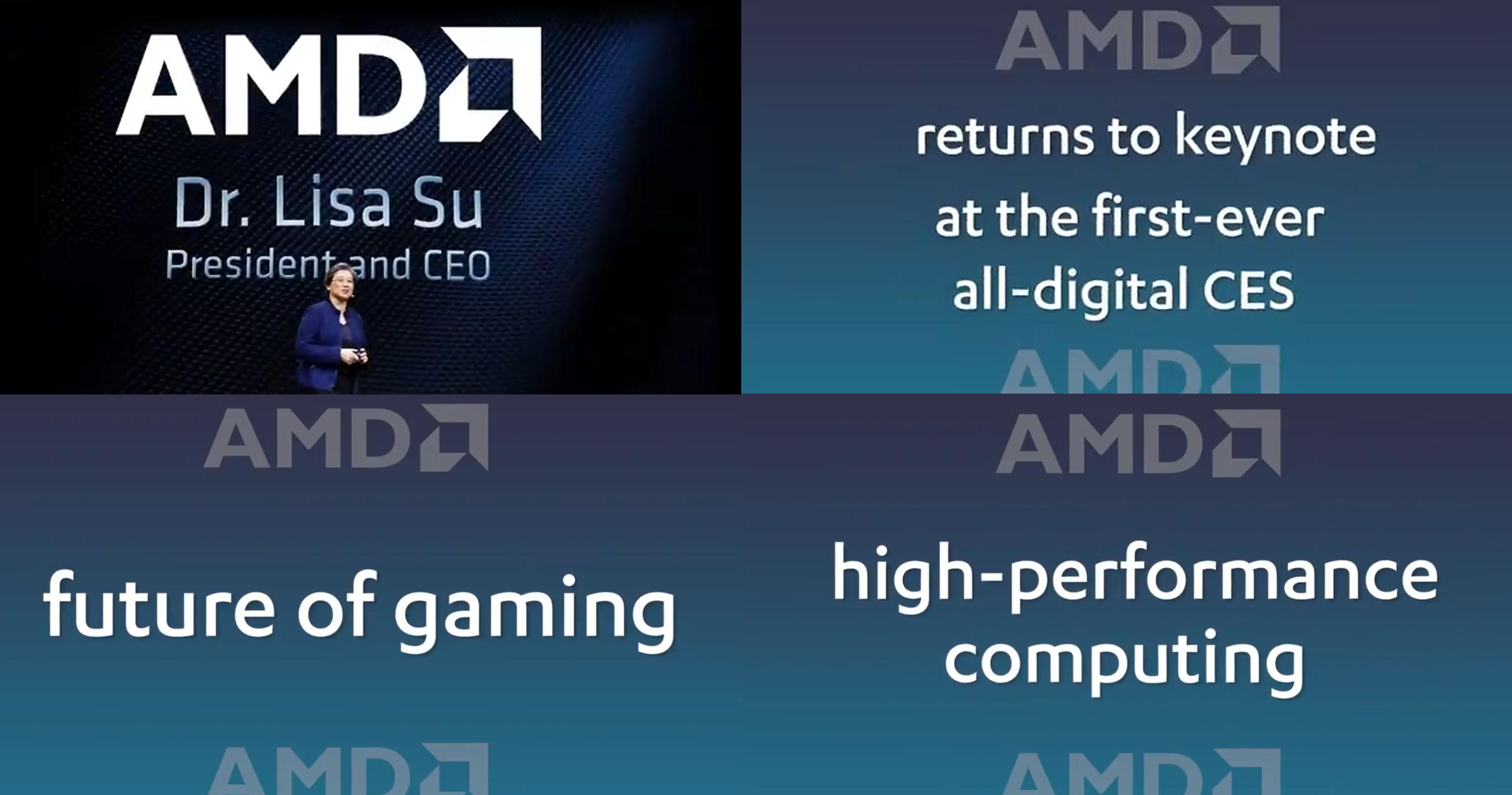 Amd Ceo Lisa Su To Host A Virtual Keynote At Ces 2021 Videocardz Com