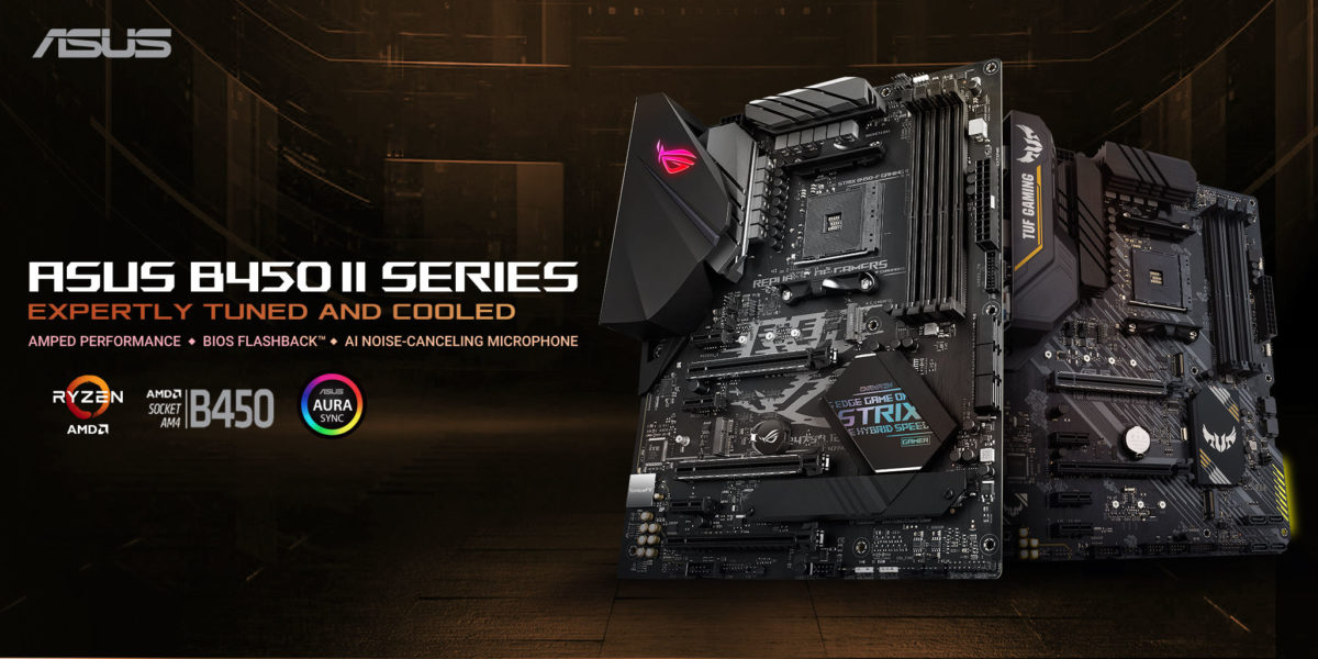 Asus Refreshes Amd B450 Motherboard Series Videocardz Com