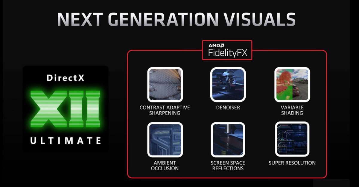 AMD is working on AI-powered supersampling, NVIDIA DLSS alternative