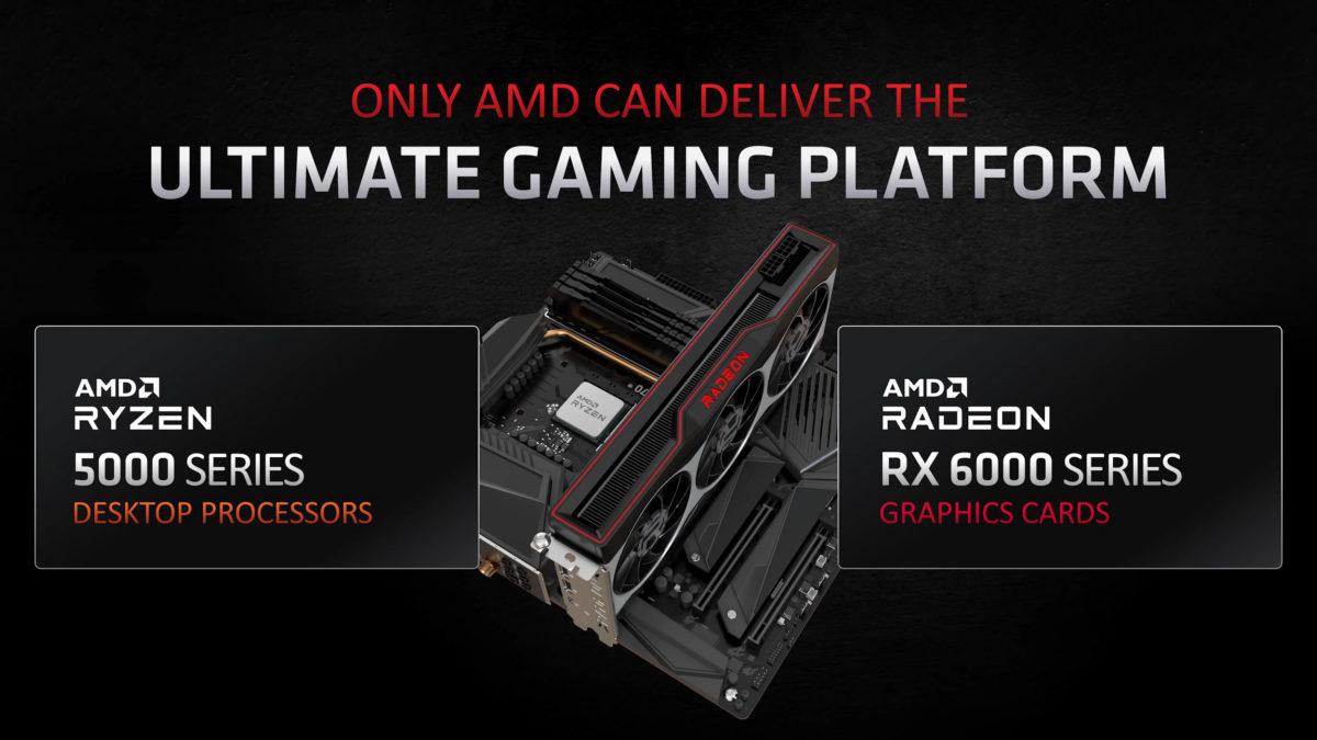 AMD Radeon RX 6000 Ryzen 5000