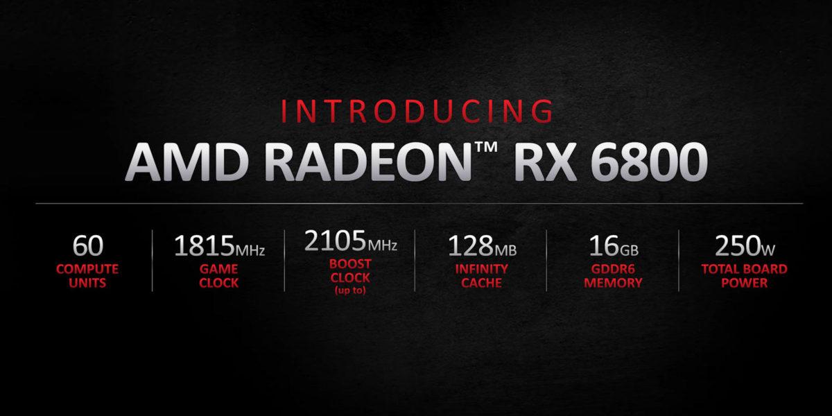 AMD Radeon RX 6800 Specs
