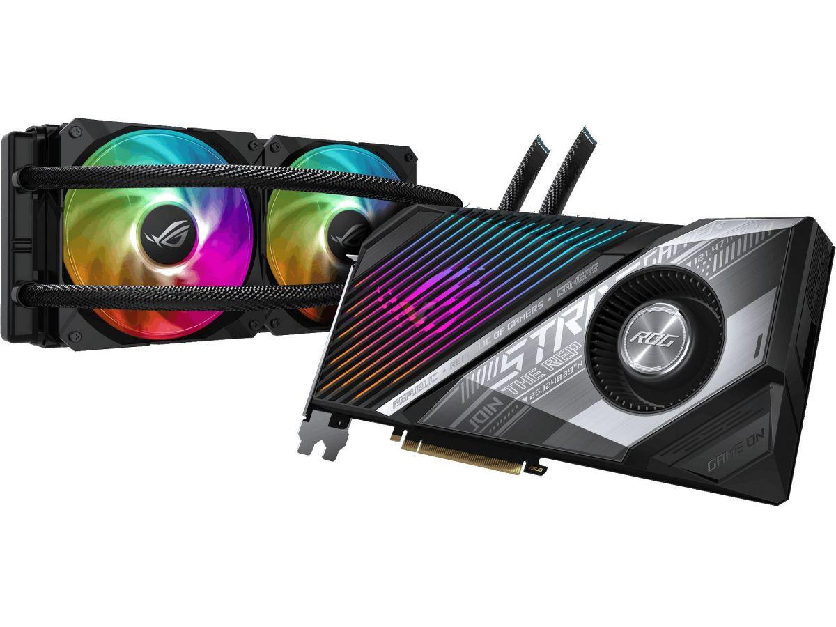 ASUS reveals custom Radeon RX 6800 ROG STRIX LC, ROG STRIX OC and TUF series